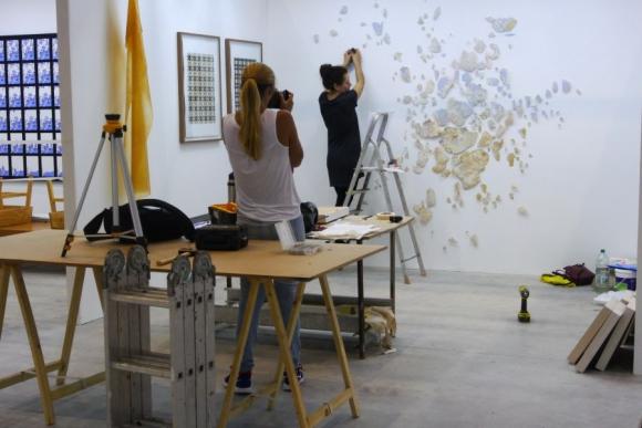Decenas de artistas plásticos exponen sus obras en el este. Foto: Ricardo Figueredo