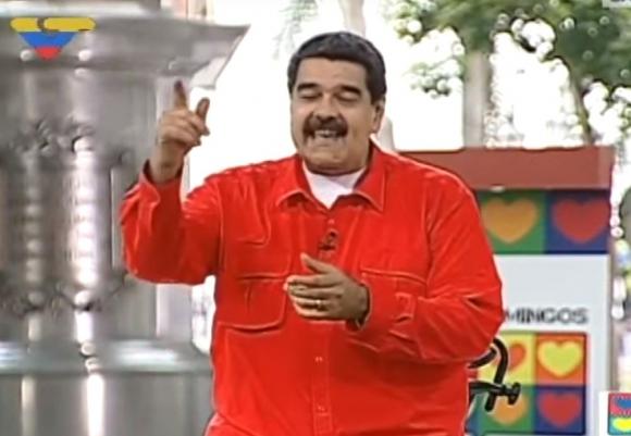 Nicolás Maduro. Foto: captura de pantalla