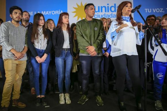 Cristina Fernández se impondría en la provincia de Buenos Aires. Foto: La Nación / GDA