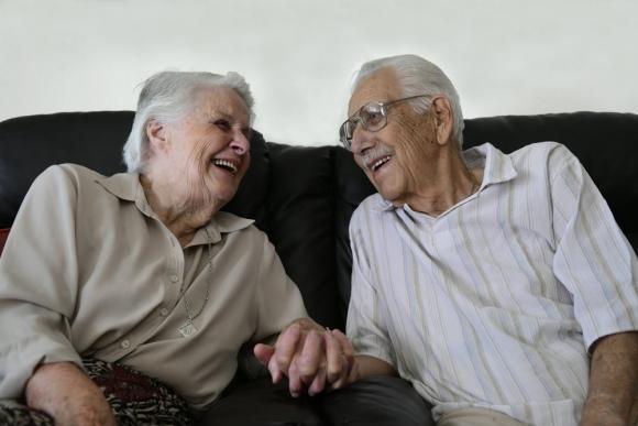 Antonio y Blanca llevan 66 años de casados y se conocen de toda la vida.Foto: M. Bonjour.