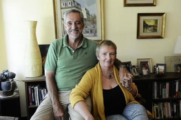 Cristina y Carlos viven en Atlántida y trabajan en el mismo emprendimiento. Foto: D. Borrelli