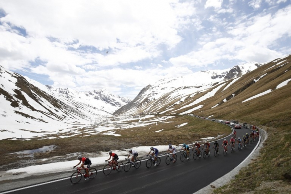 Las postales del Giro de Italia. Foto: AFP