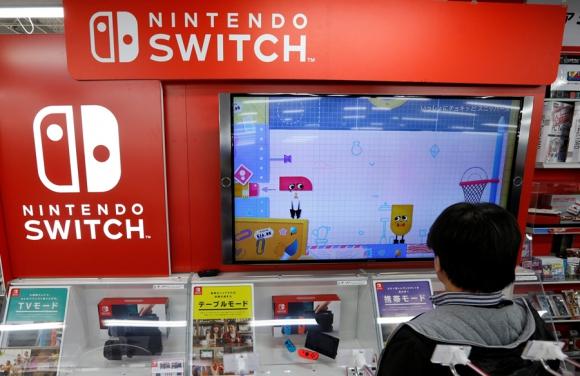Switch: el primer dispositivo de Nintendo en cinco años. Foto: Reuters