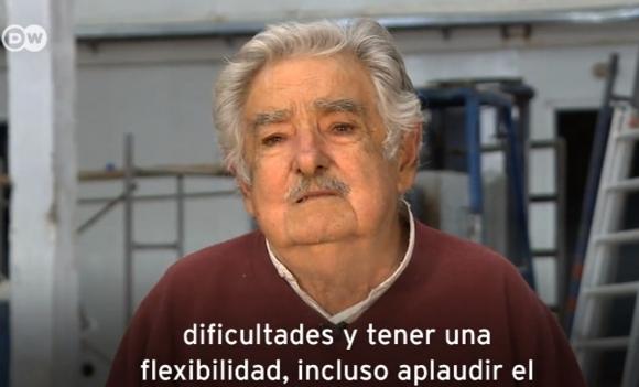Mujica hizo una nueva defensa de su iniciativa. Foto: captura de video