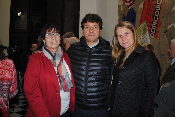 Adriana Otegui, Marcelo Conserva, Natalia Welker.