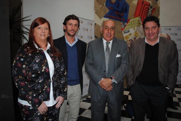 Estela Barrolic, Martín Cardoso, Rubek Orlando, José María Goicoechea.