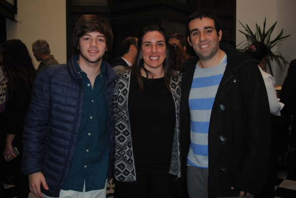 Juan Manuel, Tatiana y Santiago Paolillo.