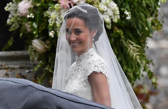 La novia Pippa Middleton. Foto: Reuters