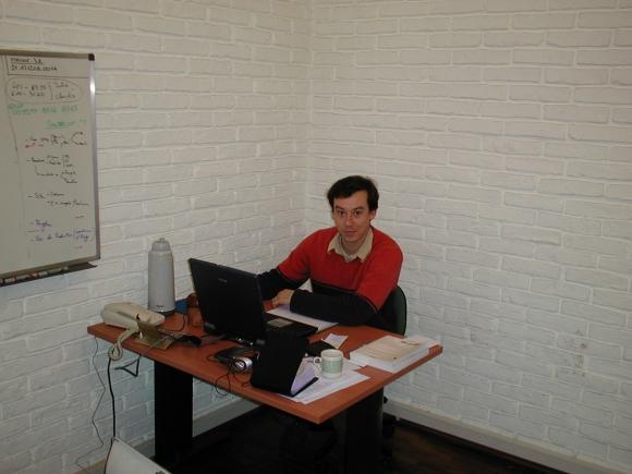 Emprendedor. Nario fundó la empresa en 2003, cuando tenía 27 años. (Foto: Gentileza Diego Nario)