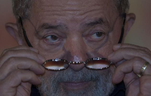 El expresidente declaró ayer en un juzgado de Brasilia. Foto: EFE