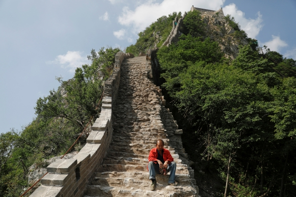 La gran muralla China. Foto: Reuters