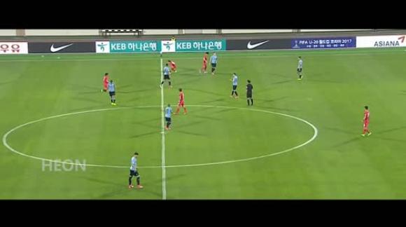 Corea del Sur 0-2 Uruguay