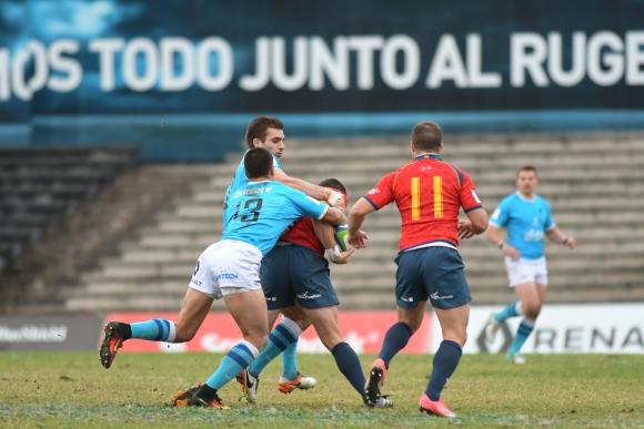 Las fotos del triunfo de Los Teros ante España que le dieron la Nations Cup. Foto: Ariel Colmegna