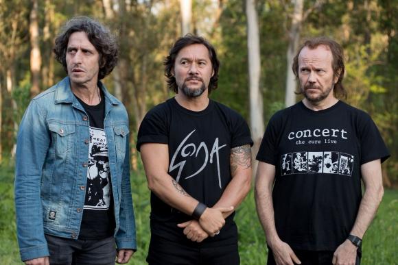 Diego Peretti, Diego Torres y Santiago Segura vuelven a ser músicos.