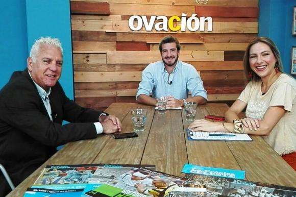 Daniel Enriquez en Ovación TV