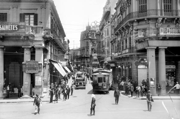 Ciudad Vieja en 1930. Foto: Centro de Fotografía