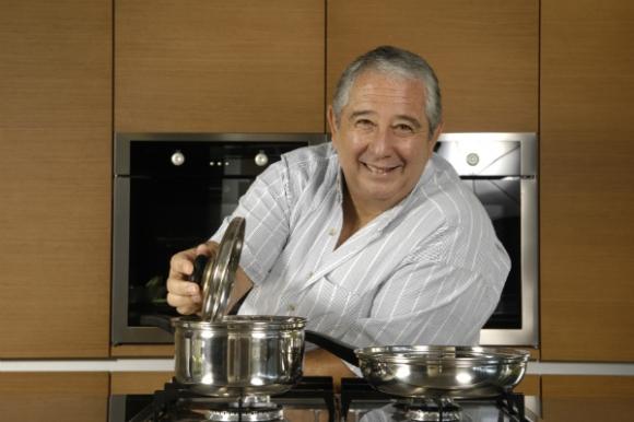 Sergio Puglia fue el primer cocinero hombre que salió en televisión.