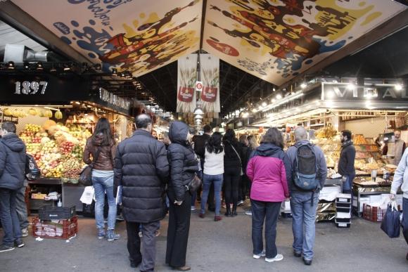Mercado de la Boqueria. Foto: Gabriel Rodríguez