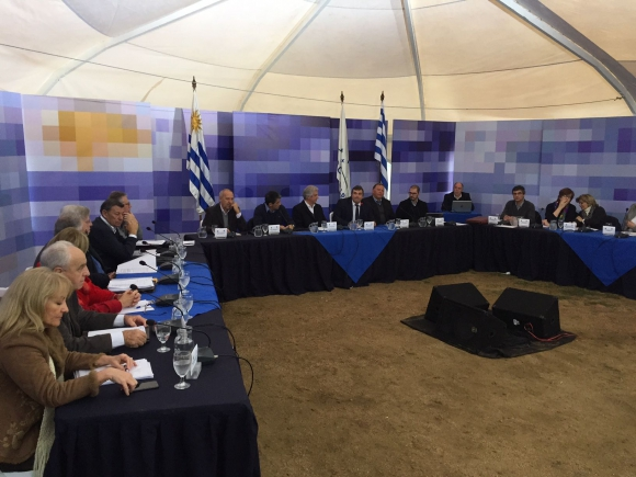 Consejo de Ministros en Ramón Trigo. Foto: Néstor Araújo