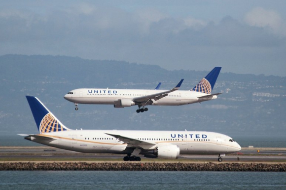Aviones de United Airlines. Foto: Reuters.