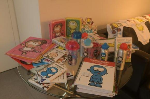 Hay una amplia gama de productos con cada personaje.