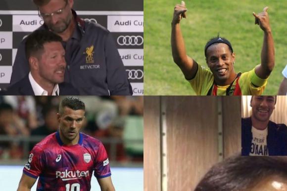 Técnico de fútbol y audio, el ídolo de Neymar, confianza en Dinho y más