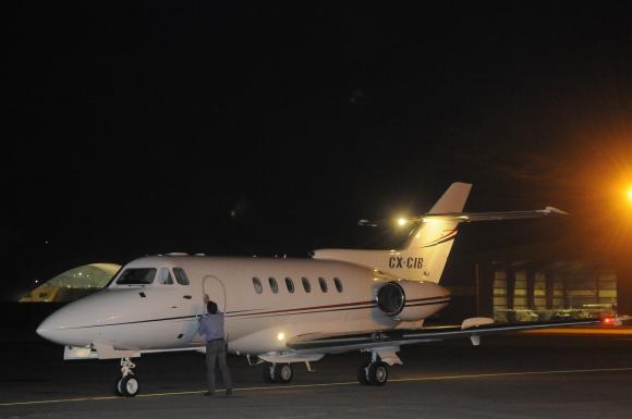 Avion presidencial. Foto: Archivo El País