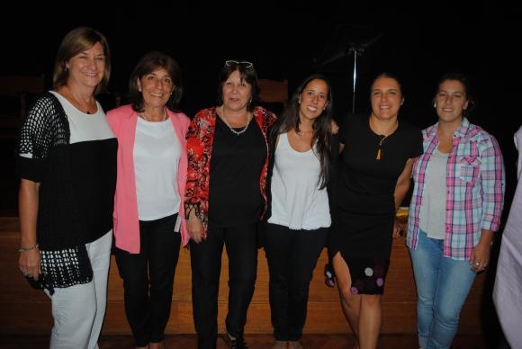 Silvia Rodríguez, Fiorella Vittorino, Adriana Alfonso, Leticia Betarte, Sandra Bottero, María José Barcia.