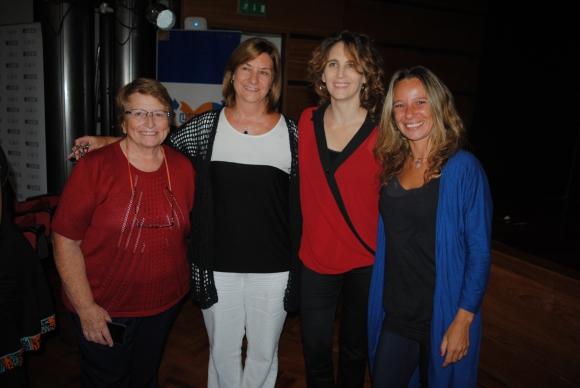 Clara Brianthe, Silvia Rodríguez, Luciana Fainstain, Rossanna González.