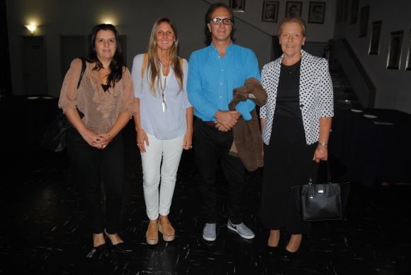 Patricia Sosa, Gabriela Maciel, Pedro Astol, Mónica Rámila.