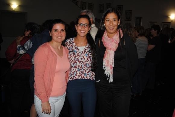 Andrea Aires, Valeria Pais, Irene Barrios.