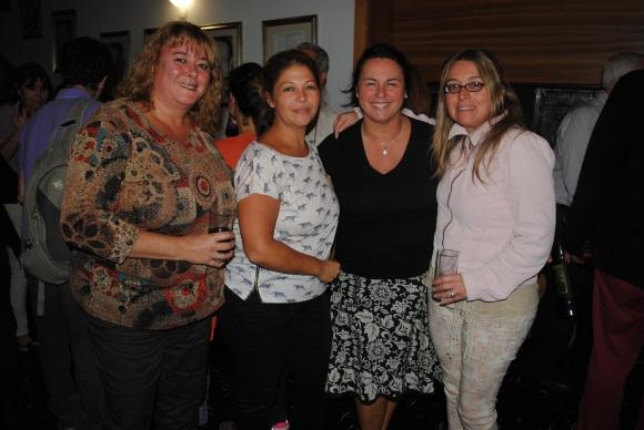 Adriana Novelle, Paula Techera, Sandra Lozano, Verónica Pignataro.