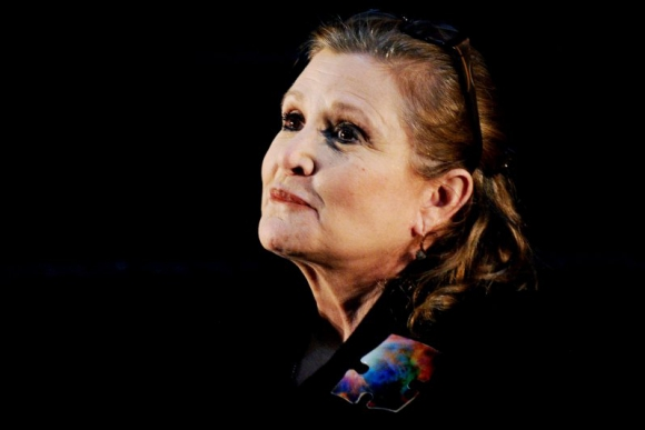 Carrie Fisher murió a los 60 años. Foto: EFE.