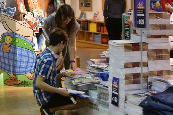 Supermercados y papelerías fueron los comercios más concurridos la semana pasada. Foto: M. Bonjour