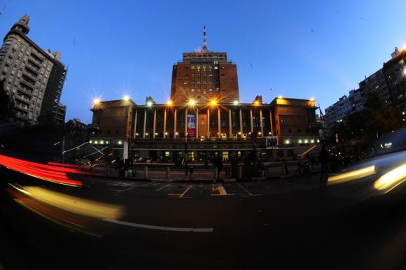 Intendencia de Montevideo. Foto: Nicolás Pereyra