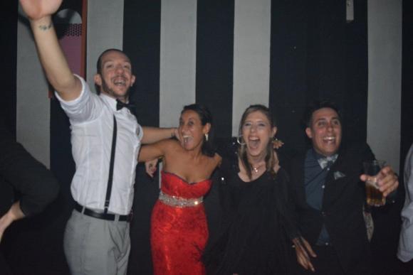 Los festejos de Locos por el fútbol y sus amigos.