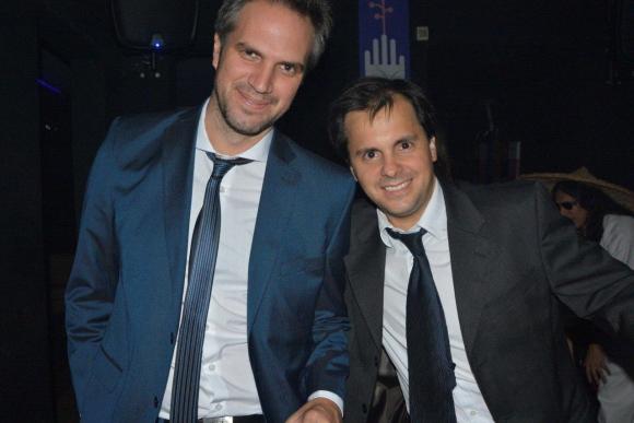 Nicolás Cáceres e Ignacio Quartino.