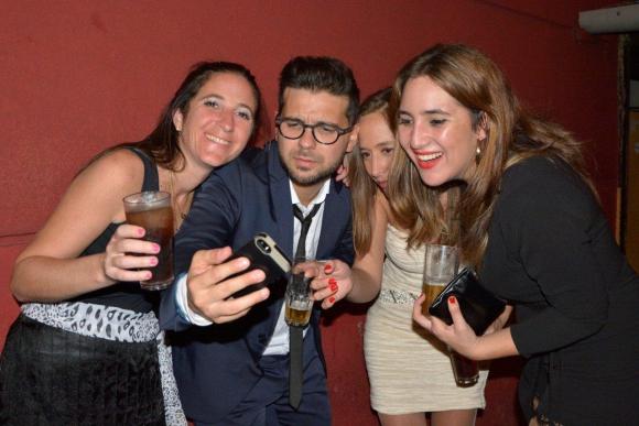 María Pallarino, Tania Melgar, Diego Travieso de la productora Kubrick, y Emilia Aldao de VTV.