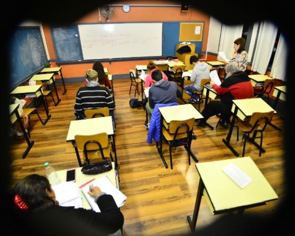 En el Crandon los grupos nunca superan los 15 alumnos. Foto: Gerardo Pérez