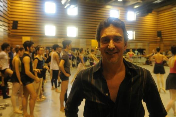 La figura de Julio Bocca fue lo que los atrajo al Ballet del Sodre. Foto: Ariel Colmegna.