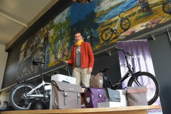 Francisco Sequeira, de Ecomoving. Foto: Ricardo Figueredo.