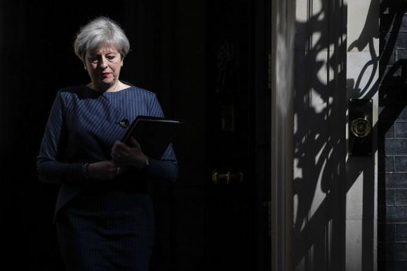 Los conservadores parten con una ventaja de 17 puntos sobre los laboristas. Foto: AFP