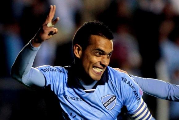 William Ferreira volvió a convertir un gol para el Bolívar. Foto: Reuters