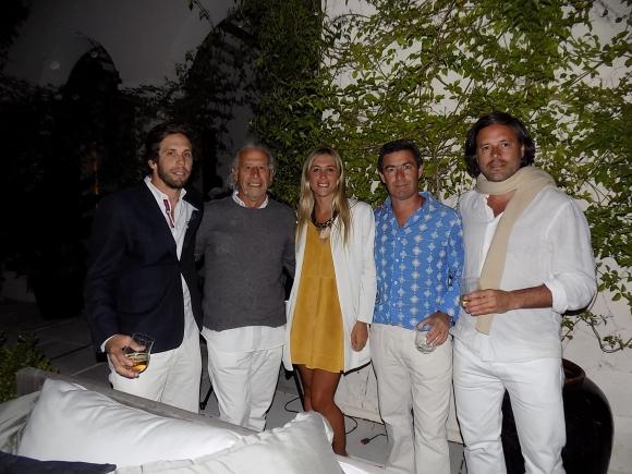 Jorge Rachetti, Eduardo Maiorano, Margarita Rachetti, Víctor Paullier, Martín Garrone.