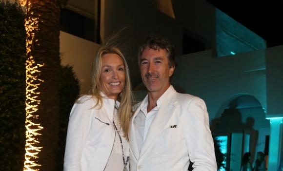 Pablo y Katherine Roemmers.