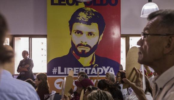 Leopoldo López. Foto: EFE