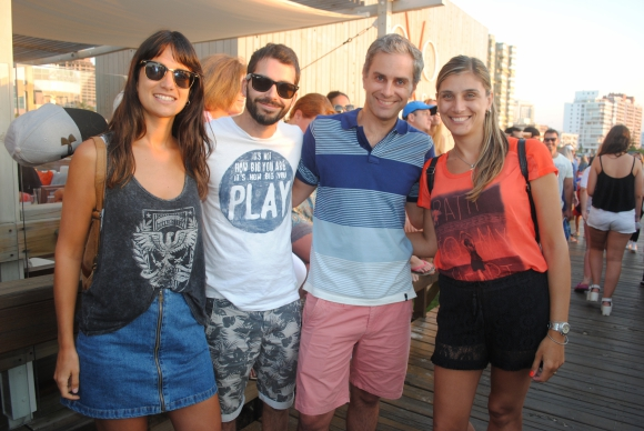 Josefina Martino, Rodrigo Lagomarsino, Pablo López, Lorena Leonardi.