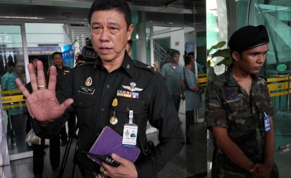 Atentado a un hospital militar tailandés a tres años del golpe de Estado. Foto: Reuters.