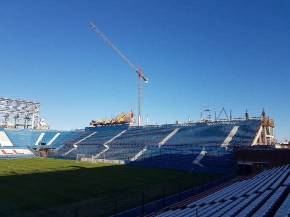 Así lucen los palcos de la Atilio García del Gran Parque Central. Fotos: @jpromeroh