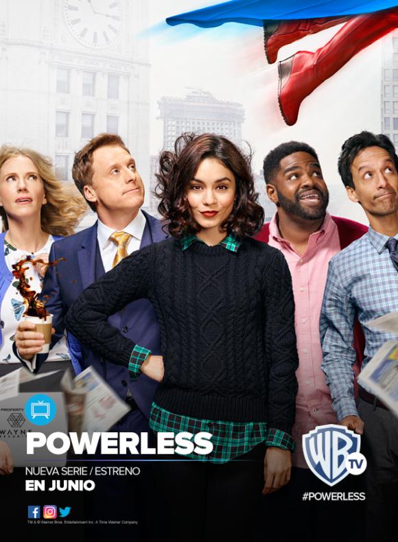 <i>Powerless</i> es la nueva comedia de Vanessa Hudgens.